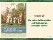 Chapter 20 Industrial Revolution