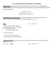 1-4, 1-6 Absolute Value Eqtns and Inequals Notes.pdf