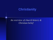Christianity_-_history_and_beliefs