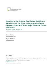 How Big is the Chinese Real Estate Bubble and Why Hasn't it Yet Burst_A Comparative Study between Ch