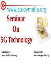 CSE-5G-Technology-PPT