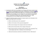 OL501 Worksheets A - F.docx
