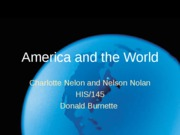 American+and+the+World+-+Team+C+presentation