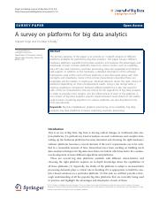 A survey on platforms for big data analytics.pdf
