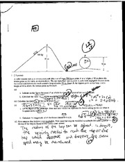 Centripedal Force and Fma Short Answer Exam