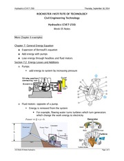 Hydraulics Lecture Notes 5