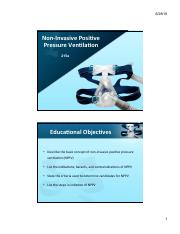 6 Power Point - Non-Invasive Poitive Pressure Ventilation jy