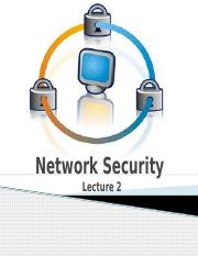 Network Security-lecture2
