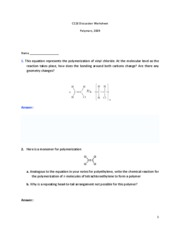 C118DiscussionWorksheet2polymers