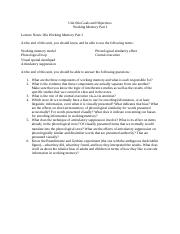06a Goals and Objectives Working Memory I.docx