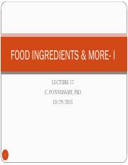 LEC+17+FOOD+INGREDIENTS+_+MORE-+I.pdf