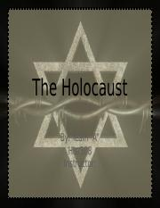 HIS 308 Week 4 Learning Team Assignment Holocaust Presentation (UOP Course)