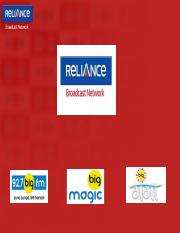 Reliance Broadcast Network Limited Product Portfolio.pptx