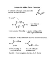 CHEM 276 Carboxyl
