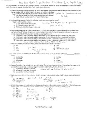 final exam - solutions
