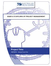 1554_Project_Time_Work Book Lect