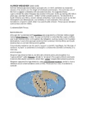 6-Continental drift and plate  tectonics (2)