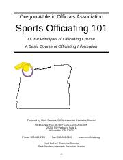 Sports Officiating 101.doc