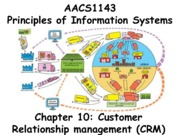 Chapter 10 Customer Relationship Management (CRM) - Students 201516