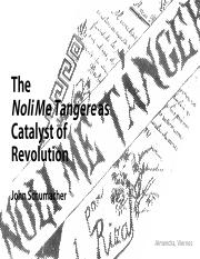 Schumacher The Noli Me Tangere as Catalyst of Revolution.pdf