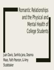 Romantic Relationships and College Students.pptx