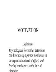 Motivation and performance(1) (1)