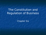 Constitution and Regulation of Business.ppt