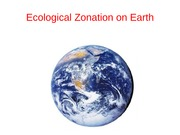 1-1 Ecological Zonation in the Sea