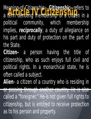 Article IV Citizenship.pptx