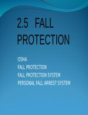 2.5 Fall Protection.ppt