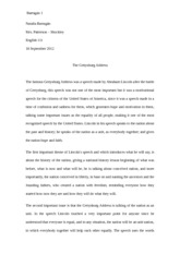 the gettysburg address essay gettysburg address essay calam atilde  works cited lincoln abraham the gettysburg address abraham 5 pages gettysburg address essay