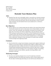 Business Plan - Google Docs