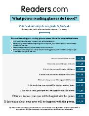 dbb2c0b9206 Reading Glasses Test - Strength Guide.pdf - READING GLASSES TEST ...
