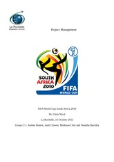 FIFA World Cup 2010 South Africa project
