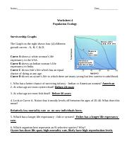 33 Population Ecology Graphs Worksheet Answers ...