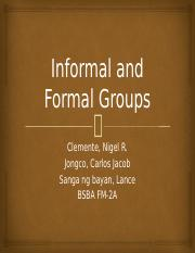 Informal and Formal Groups.pptx
