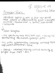 Knight and Asher notes