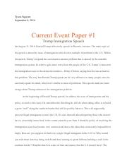 Govt. current event #1