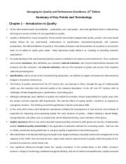 Summary of Key Points and Terminology - Chapter 1.docx