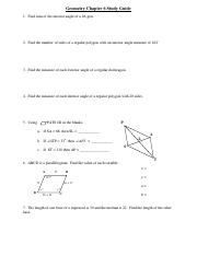 CPGeom Chapter 6 SG