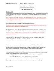 Study and Reading Guide for Unit 5 BIBL 106.docx
