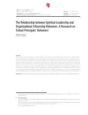 The Relationship between Spiritual Leadership and Organizational Citizensh.pdf