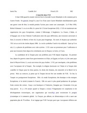 French 235 essay 1
