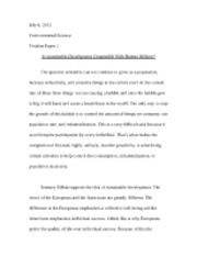 position paper 1 science