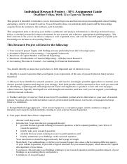 Individual Research Report -assignment guidelines(4).docx