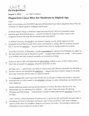 Unit 3 - Plagiarism Lines Blur for Students in Digital Age.pdf