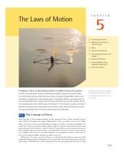 Chapter 5 - The Laws of Motion