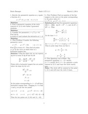 Math 1172 11.1 Solutions Sp 2014