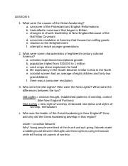 History Study Guide 2
