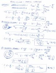 Capacitance Derivations